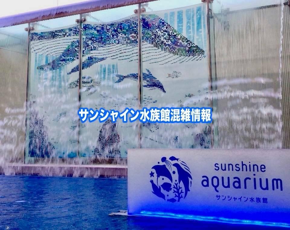 【サンシャイン水族館混雑状況2020】春夏休み(GWお盆)&平日と土日の混雑回避