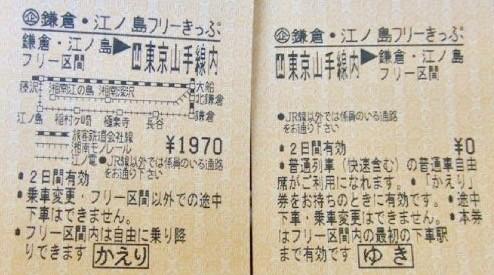 鎌倉・江の島フリーパス