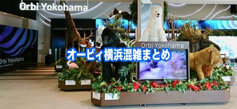 【オービィ横浜混雑状況2020】春夏休み(GWお盆)&平日と土日!駐車場攻略