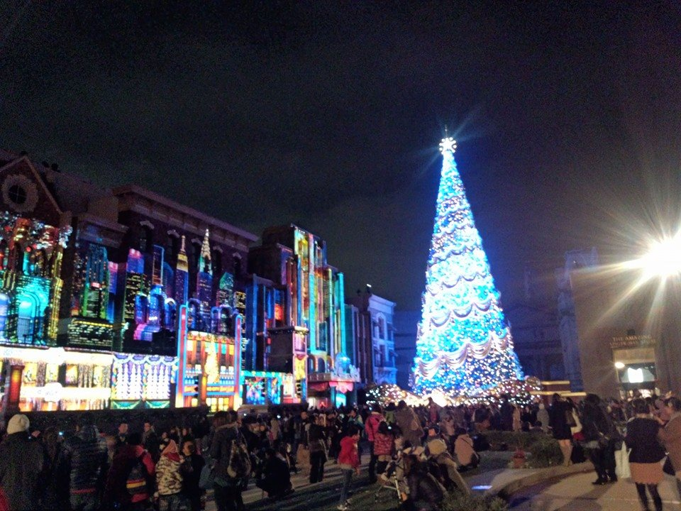 USJ クリスマス 混雑