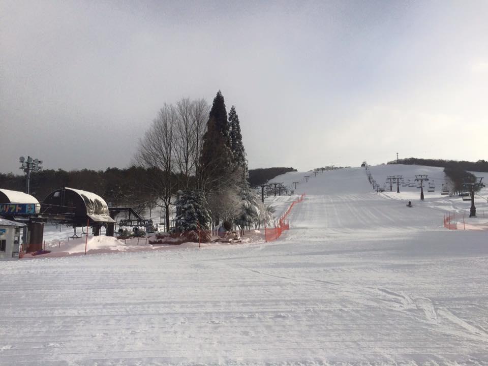 ひるがの高原スキー場の風景