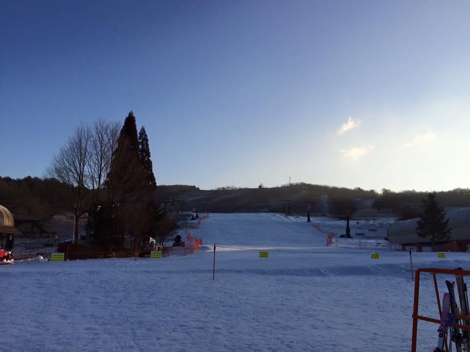 ひるがの高原スキー場の全景