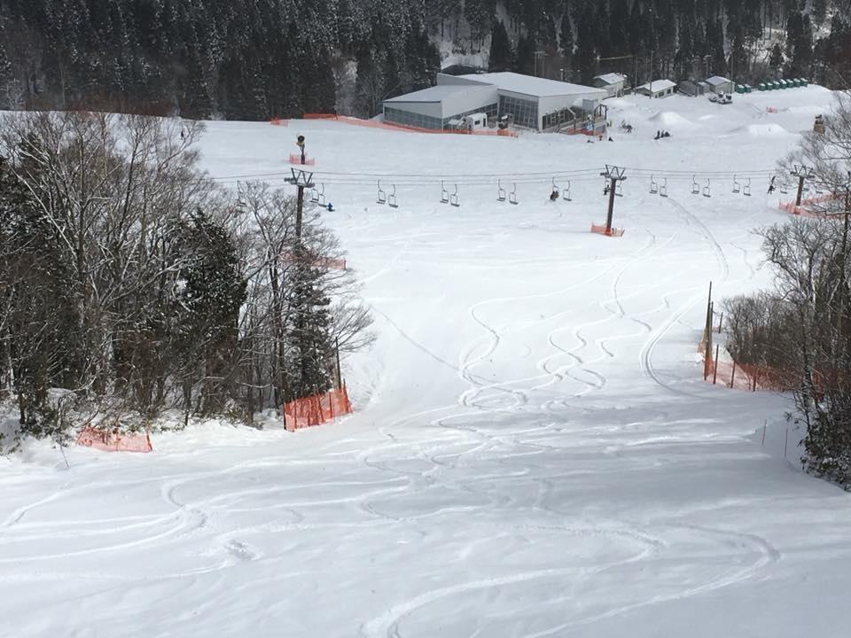 めいほうスキー場の風景