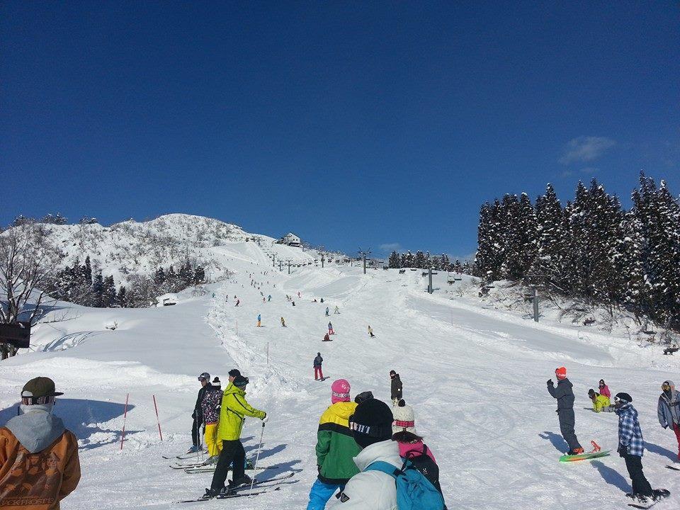上越国際スキー場の混雑