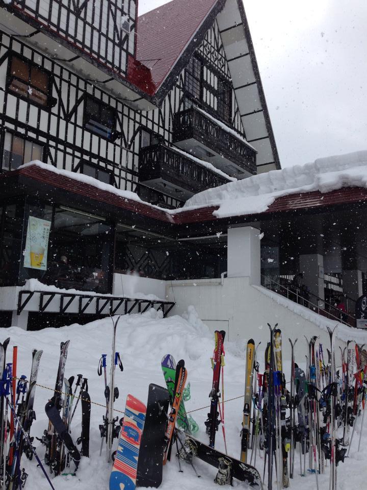 上越国際スキー場の外観