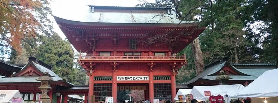 鹿島神社の初詣の混雑