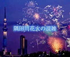 隅田川花火 混雑